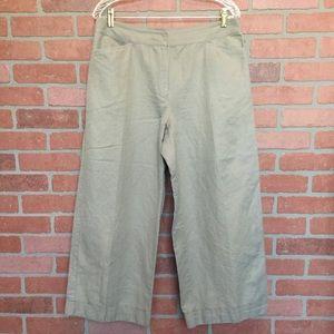 Eileen Fisher capris crop pants size M (3S18)
